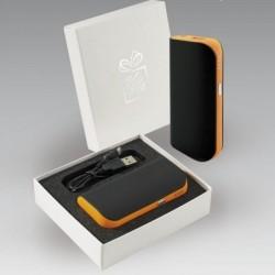 Colorissimo Power Bank Kellemes tapintású gumibevonatos 5200 mAh kapacitással.